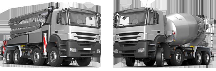 bétonnières, pompes, rexroth, toupie, camion malaxeur, camion toupie, camion pompe