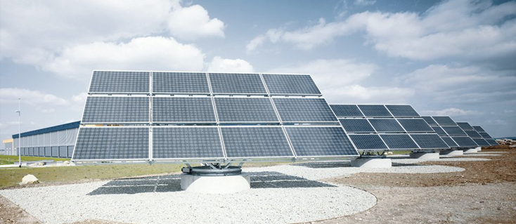 Énergie solaire - Usine photovoltaïque à Arnstadt, Bosch Rexroth