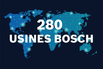 280 usines Bosch