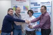 L'INSA Lyon collabore avec Bosch Rexroth et Cerebrum Ingénierie