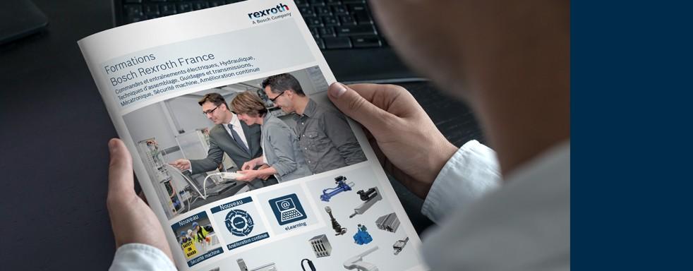 Les formations Bosch Rexroth, une offre complète dans les technologies de commande et d'entraînement